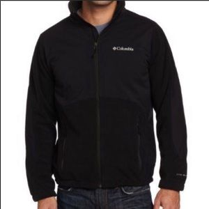 COLUMBIA-Black Fleece Full-Zip Boho Jacket/Coat-M